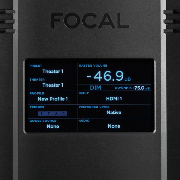 Focal Astral 16 - AV Processor Versterker | Display
