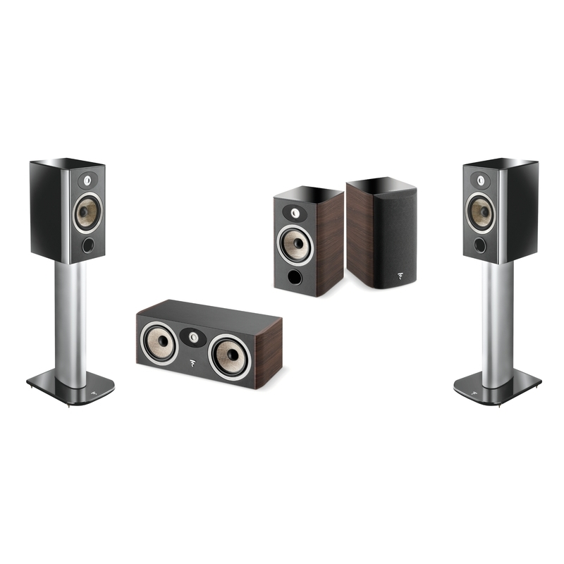 Ter illustratie: Focal Aria 4x906, 1xCC900 (5.0)