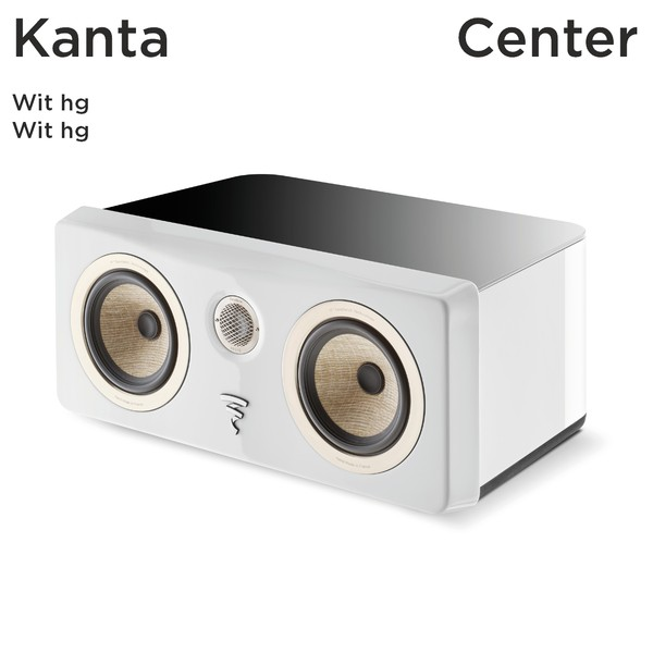 Kanta Center - wit hoogglans behuizing / wit hoogglans front